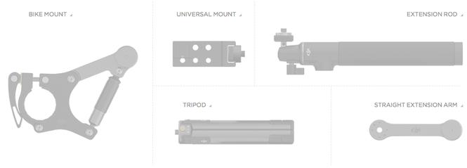 DJI OSMO — Новая ручная 4К-камера с трехосевой стабилизацией